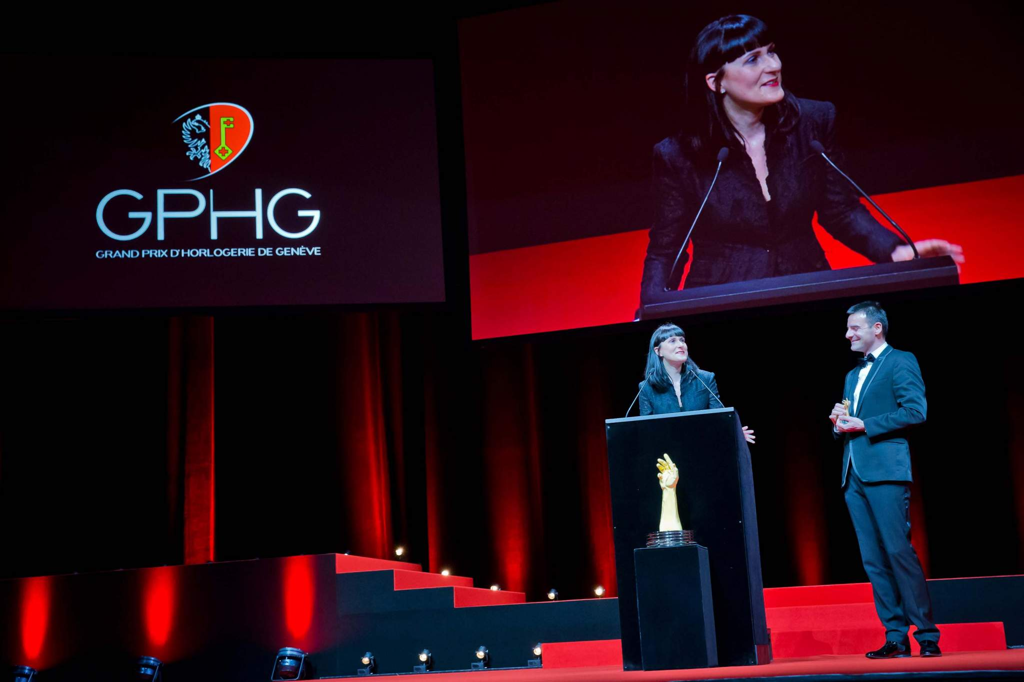 Speech of Maria et Richard Habring, CEOs of Habring2, winner of the «Petite Aiguille» Prize 2013