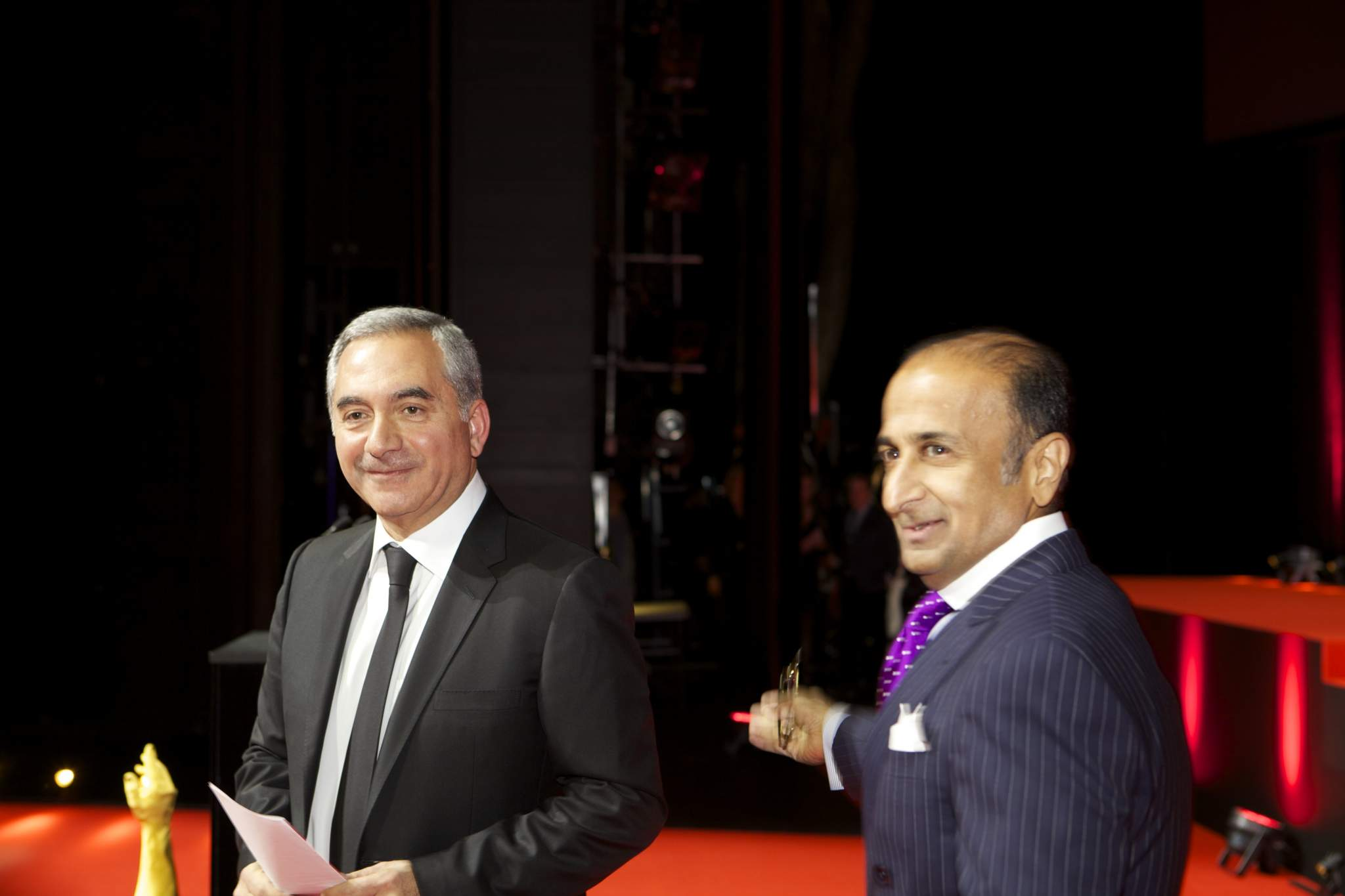 Claude Sfeir and Viren Bhagat, members of the Jury 2013