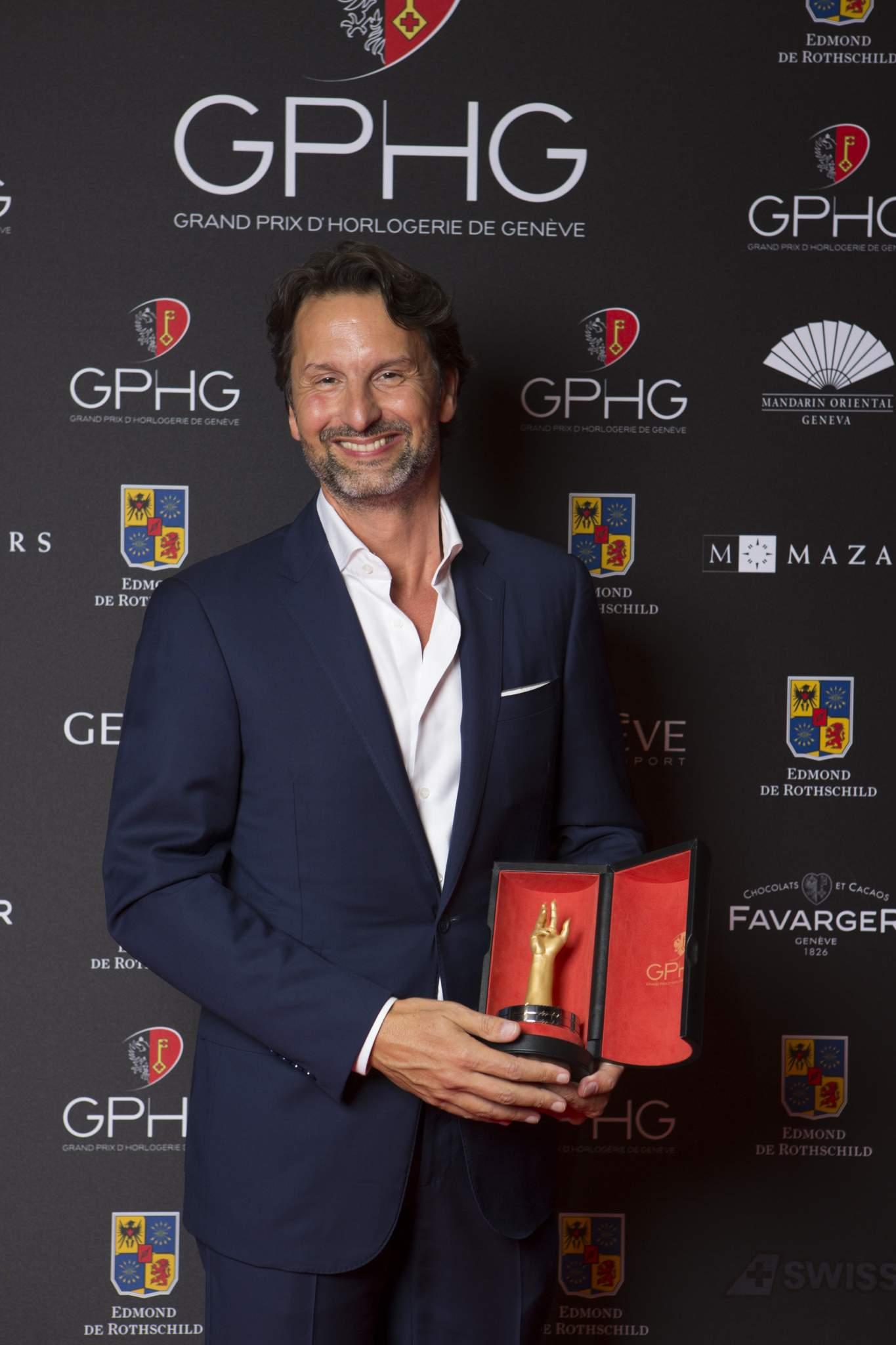Maximilien Büsser (Owner & Creative Director of MB&F, winner of the Calendar Watch Prize 2016)