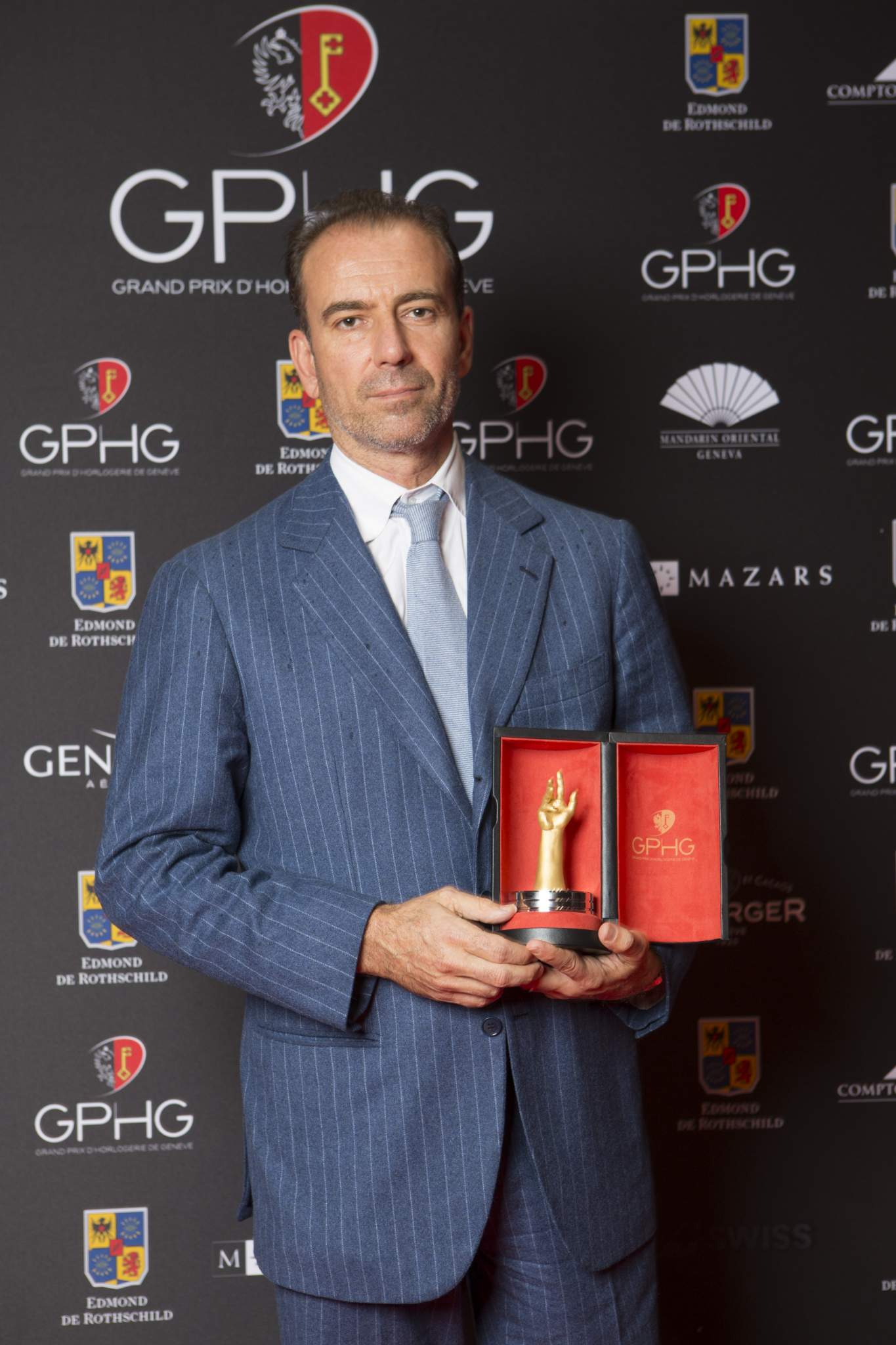 Mario Peserico (CEO of Eberhard & Co, winner of the Sports Watch Prize 2016)