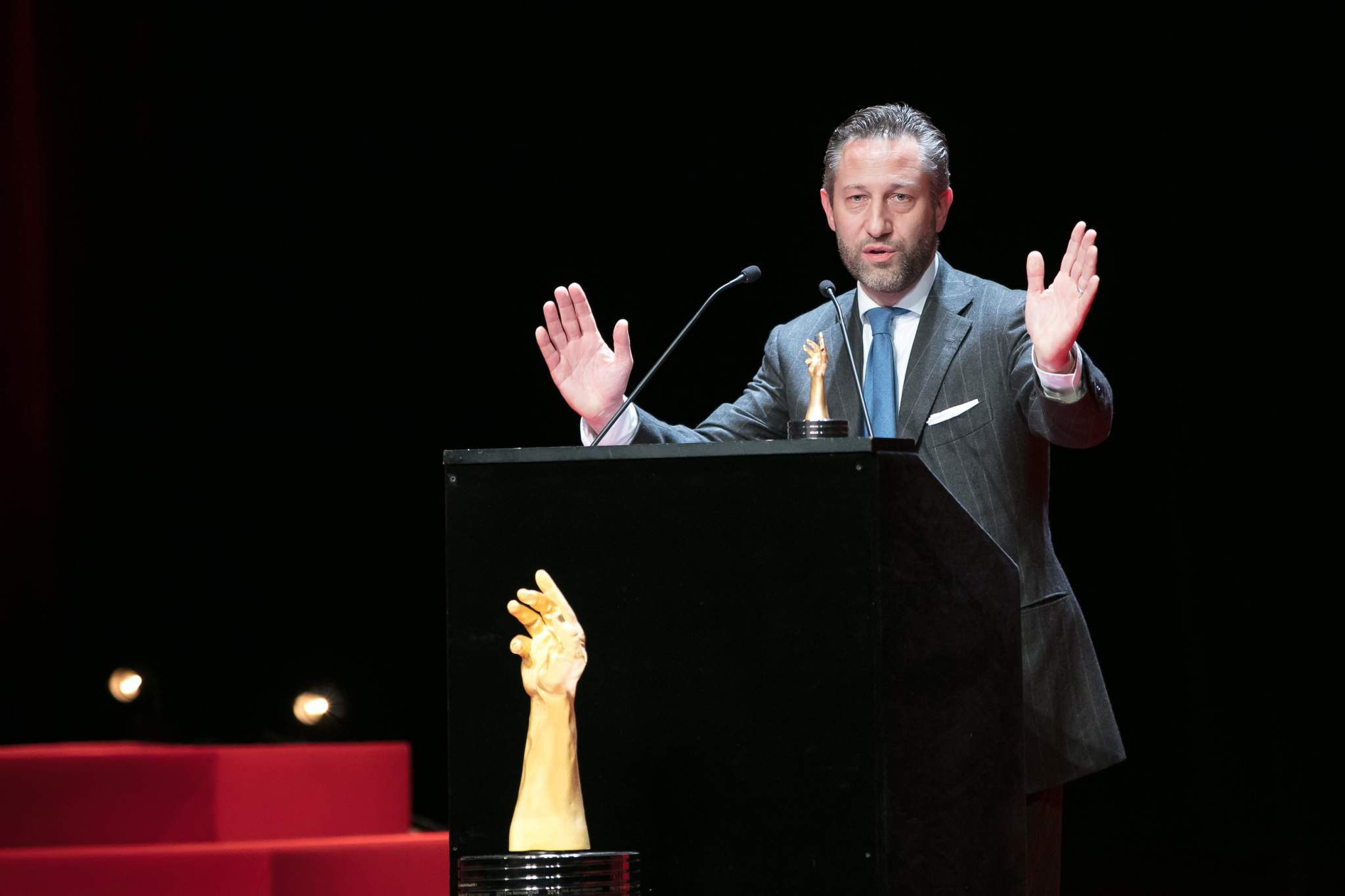 Aurel Bacs (President of the jury of the GPHG 2017)