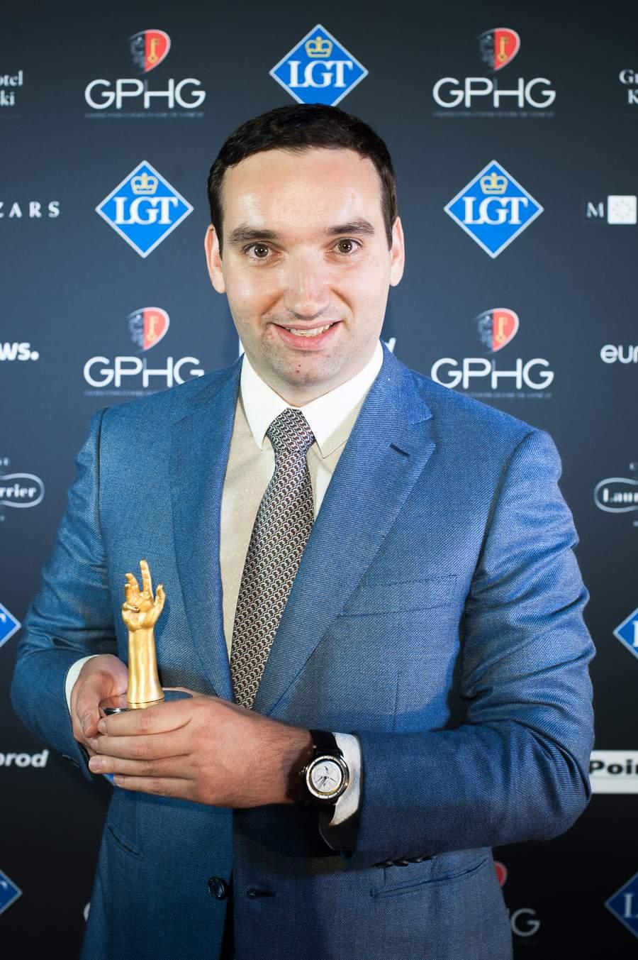 Rémi Maillat, Founder of Krayon, winner of the Innovation Prize 2018
