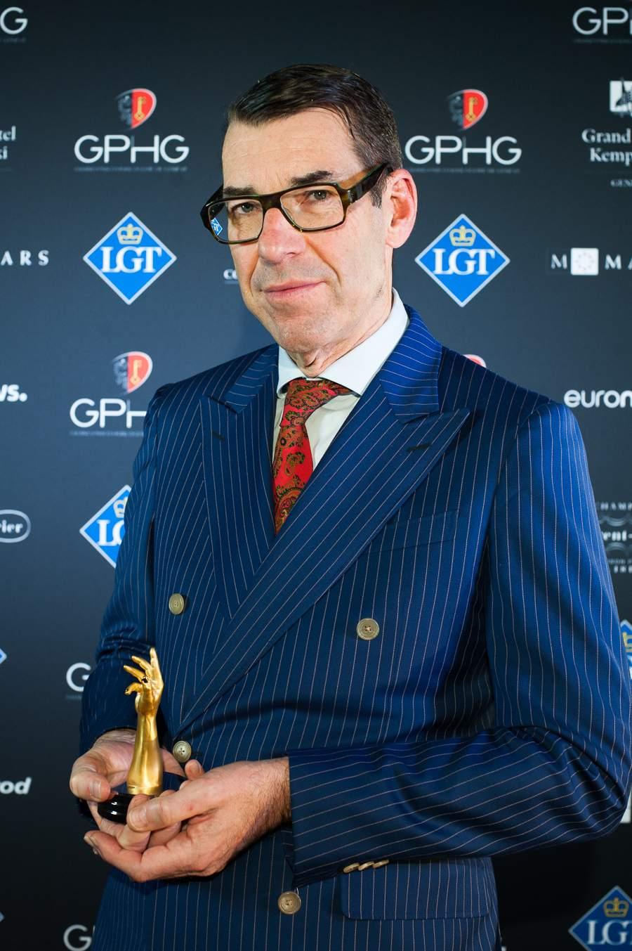 Christian Selmoni, Style and Heritage Director at Vacheron Constantin