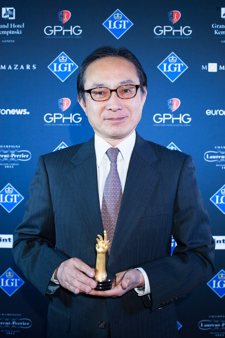 Atsushi Kaneko, Director of Seiko Watch Corporation, winner fo the Sports Watch Prize 2018