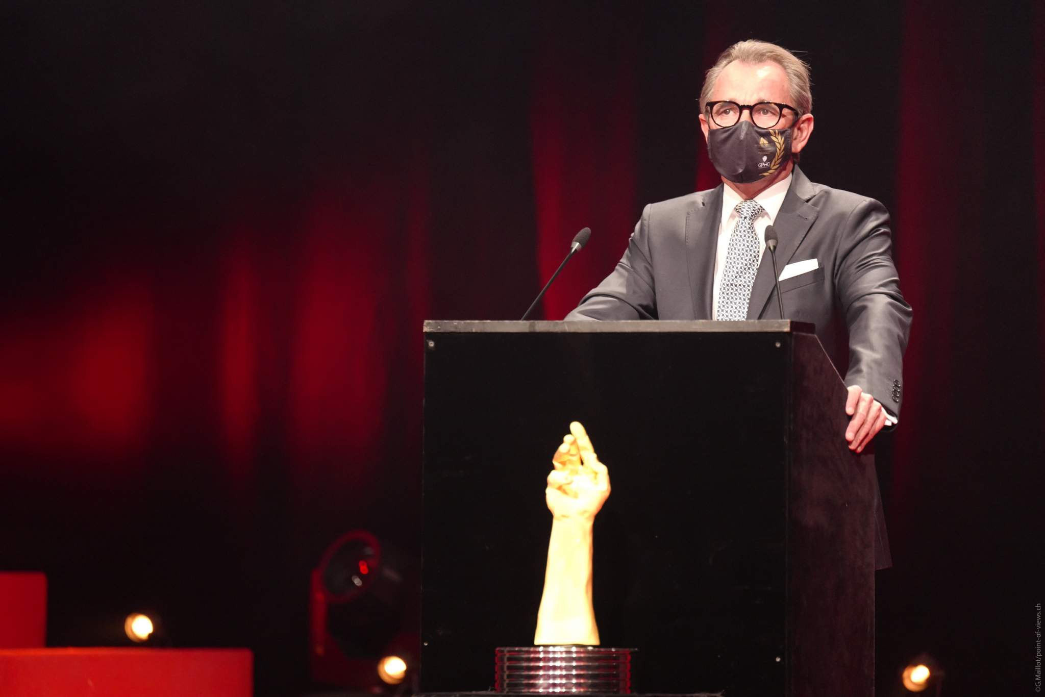 Raymond Loretan, Président de la Fondation du GPHG
