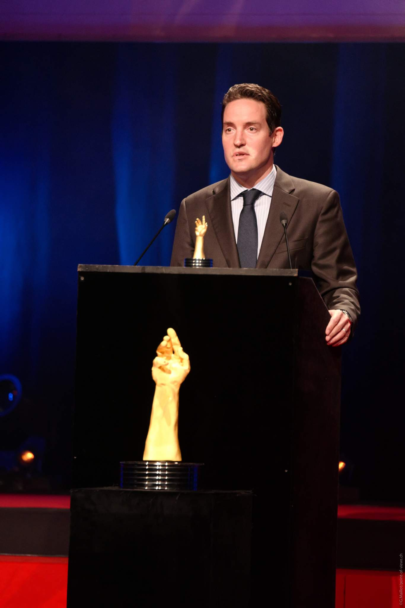 Roland Enderli, Tudor Watches Commercial director, winner of the Challenge Watch Prize 2020