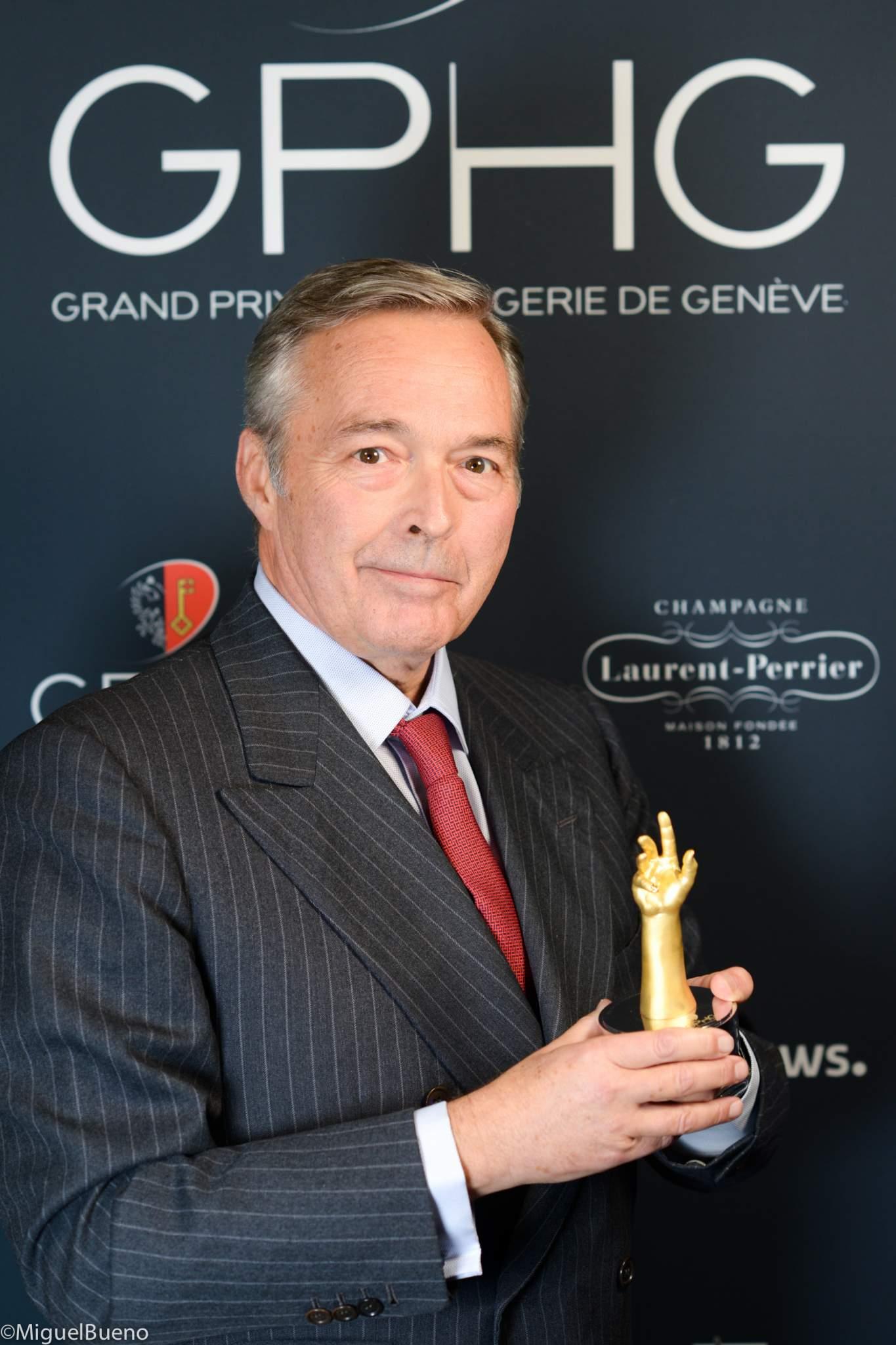President of Chronométrie Ferdinand Berthoud, winner of the Chronometry Watch Prize 2019