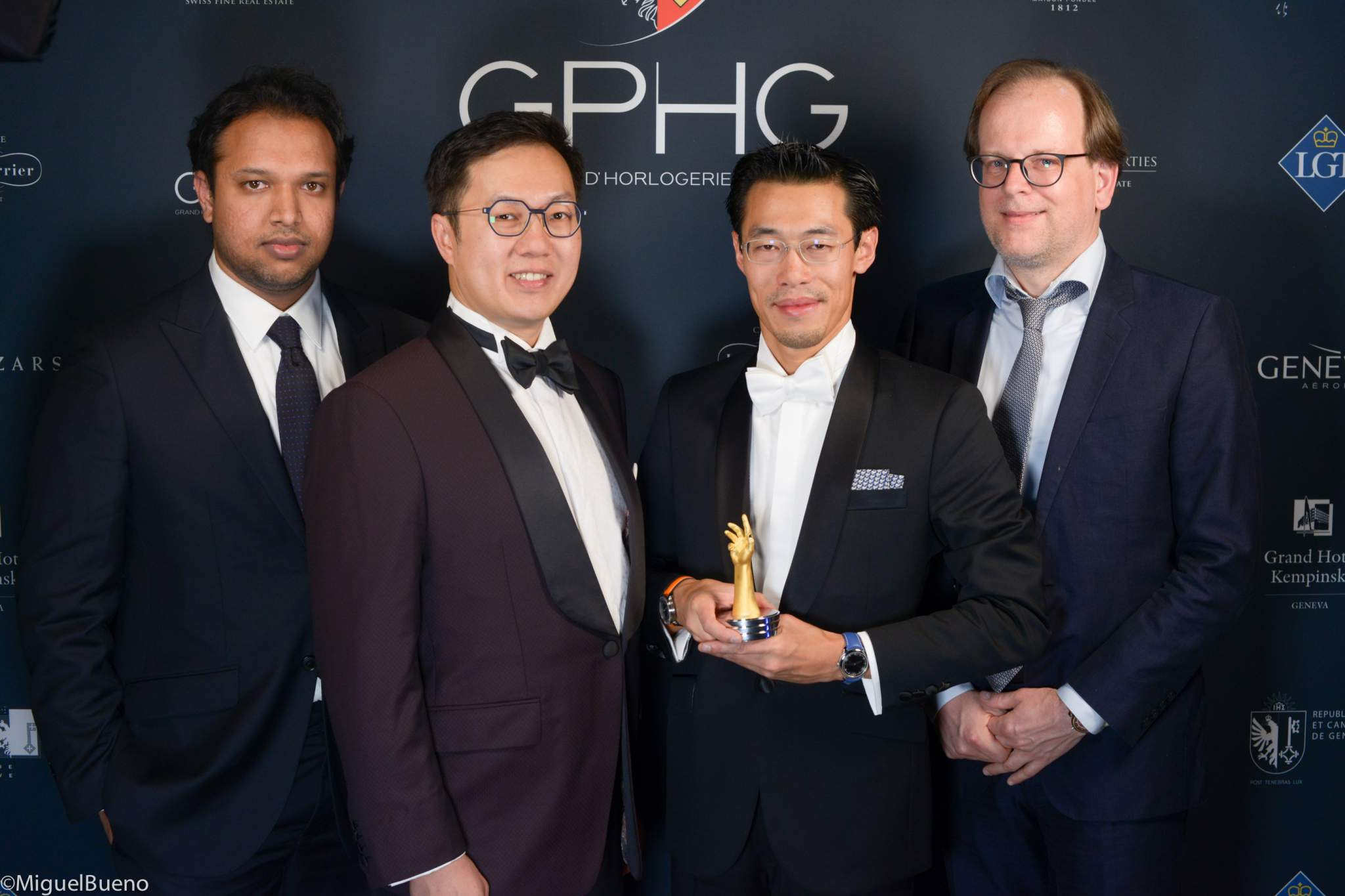 """Owner and watchmaker, winner of the """"Horological Revelation"""" Prize 2019"""