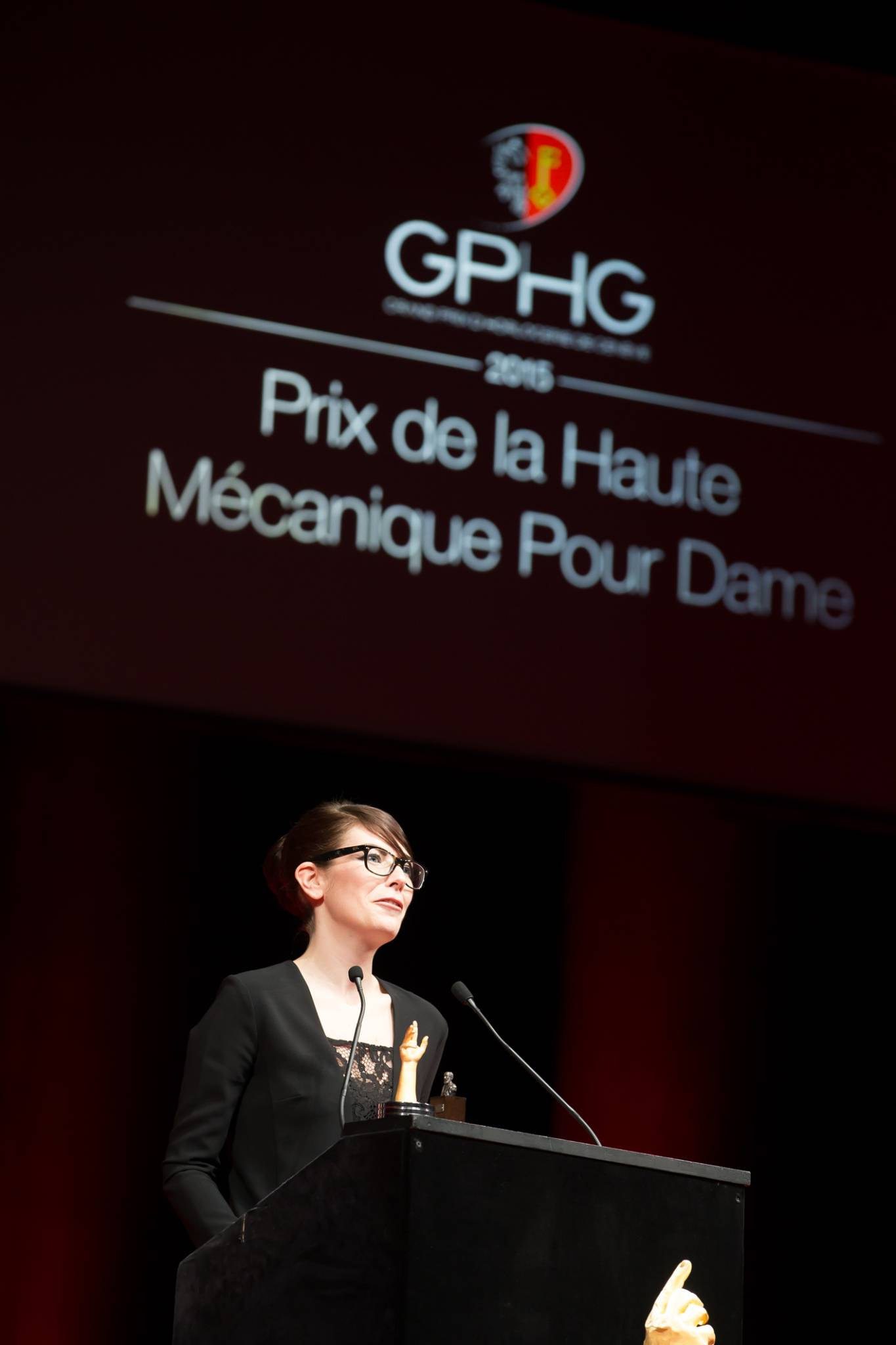 Aurélie Picaud (Timepieces Director of Fabergé, winner of the Ladies' High-Mech Watch Prize 2015)