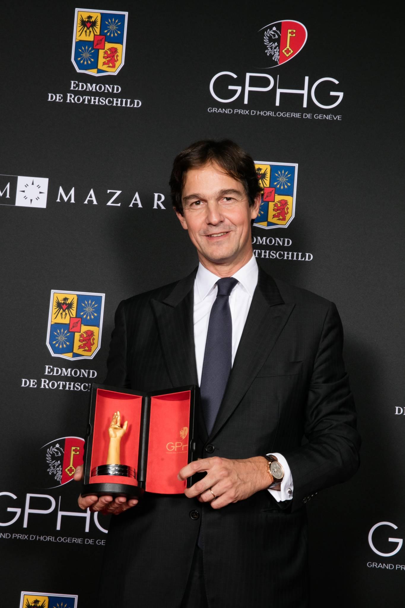 Laurent Dordet (CEO of La Montre Hermès, winner of the Calendar Watch Prize 2015)