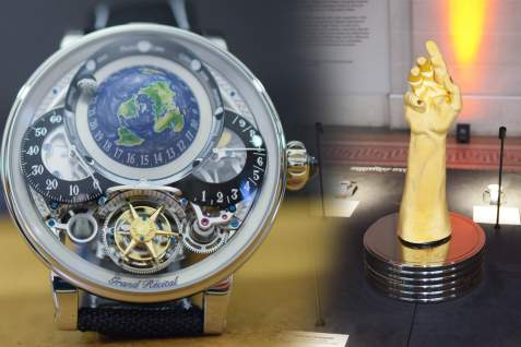 """Monochrome Watches - Bovet Wins the """"Aiguille d'Or"""" at GPHG 2018 (and all the other prize-winners)"""
