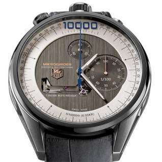 """Europa Star - The """"Aiguille d'Or"""" Goes to Tag Heuer for the Mikrogirder Watch"""