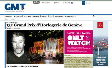 gmtmag.com - 13e Grand Prix d'Horlogerie de Genève