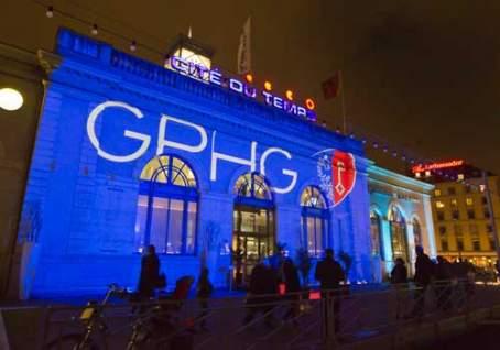 Cocktail d'inauguration de l'exposition des montres présélectionnées par le Jury du XIème Grand Prix d'Horlogerie de Genève