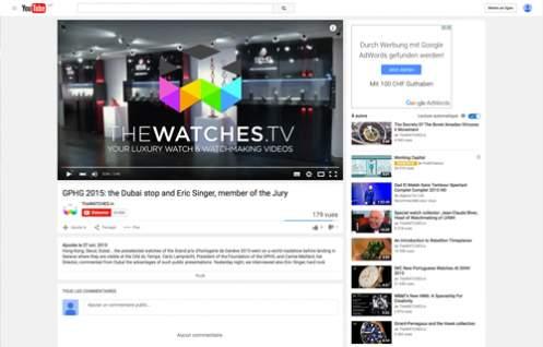 GPHG 2015: the Dubai stop and Eric Singer, member of the Jury